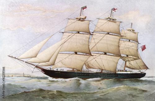 statek-quot-ida-ziegler-quot-z-roku-1854-obraz
