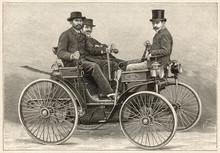 Peugeot 1891 Motor Car. Date: 1891