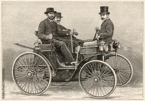 Samochód Peugeot 1891. Data: 1891