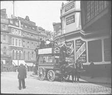 Bus  Old Kent Road. Date: Circa 1890