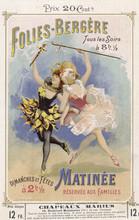Folies Bergere Programme. Date...