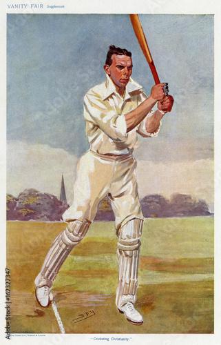 Fotografía Gillingham - Cricketer. Date: 1906