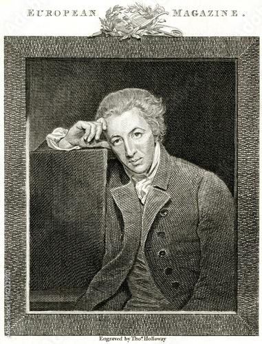 Photo  William Hayley 1745-1820. Date: 1745 - 1820