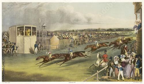 Photo William IV at Ascot - 1837. Date: 1837