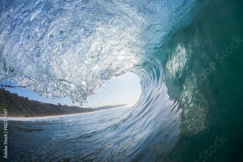 Stickers pour porte Eau Wave Inside Out