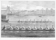 Oxford Vs Cambridge 1873. Date...