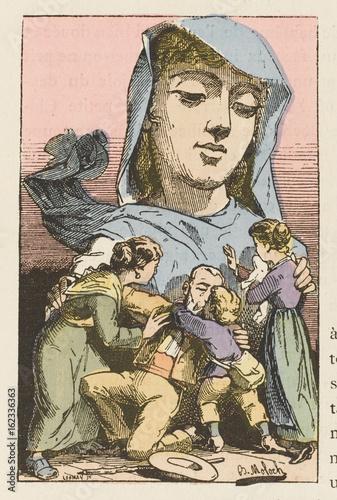 Concept - Amnesty. Date: 1882 Canvas Print