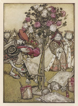 Alice:Rose-Garden Cards. Date:...