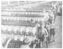 Child Labour In The American Cotton Mills. Date: 1900