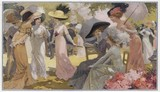 Ogrodowe sukienki 1910. Data: 1910 - 162340752