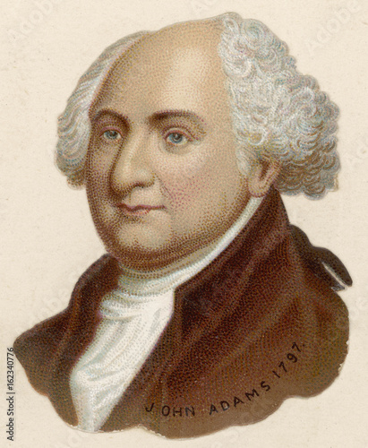 Photo John Adams. Date: 1735 - 1826
