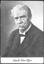 Schweitzer - Postcard. Date:  1875 - 1965