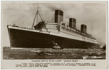 The Queen Mary. Date: 1936
