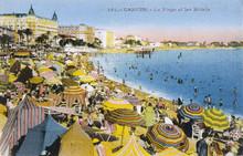 Cannes - Beach - 1936. Date: 1936
