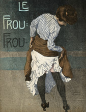 Female Type - Frou-Frou. Date: 1908