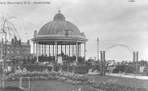 Bandstand  Morecambe. Date: 1913 Wallpaper Mural
