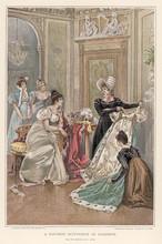 Costume. Date: Circa 1800