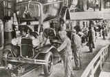 Linia montażowa Forda 1929. Data: 1929 - 162365542