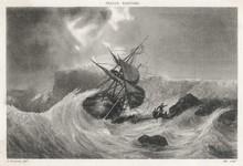 Shipwreck - Cherbourg. Date: 17 Th Century