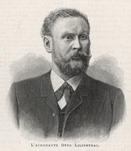 Lilienthal Portrait. Date: -1896