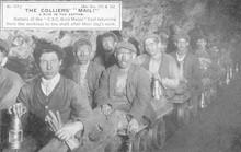 Clay Cross Miners. Date: Circa 1910