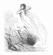 Folklore - Feu Follet. Date: 1863