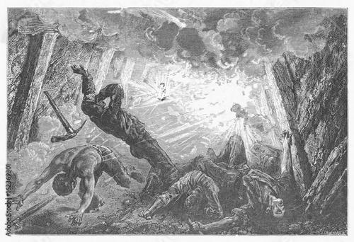 Coal Mine Explosion. Date: 1869