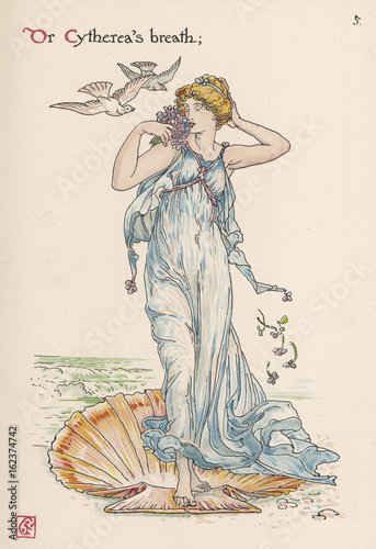 Myth - Mythology - Aphrodite Canvas Print