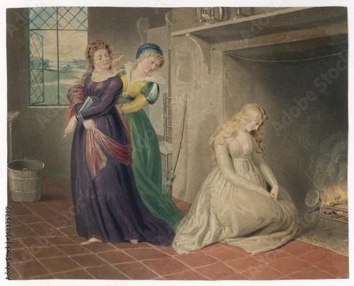 Canvas-taulu Cinderella - Richter