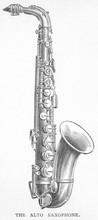 Alto Saxophone. Date: 1897
