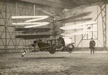 Pescara Helicopter 1922. Date: 1922