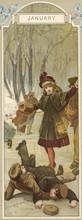 Ice Skating Tumble 1886. Date:...