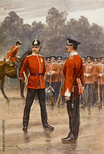 Fotografía  Manchester Regiment. Date: circa 1860