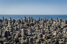 Zen Stone Pyramids Fiels.