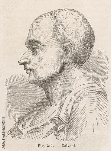 Photographie  Luigi Galvani. Date: 1737 - 1798
