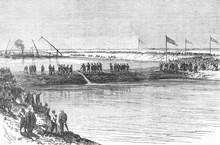 Suez Construction 6. Date: 18 March 1869