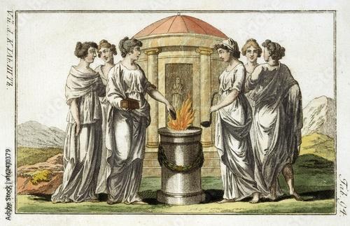 Vestals Sacrificing