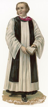 Anglican Priest. Date: 19th Ce...