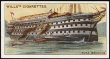 Britannia Training Ship. Date:...