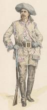 Buffalo Bill Cody. Date: 1846-1917