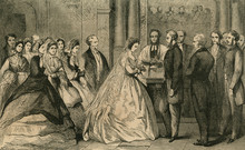 Marriage St Georges. Date: 1865