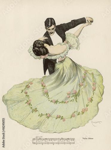 Fotografia Valse Bleue. Date: 1908