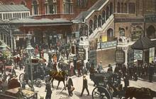 Broad Street Station. Date: Circa 1900