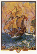 Golden Hind' (Ford). Date: 1577