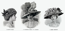 Edwardian Hats Using Floral De...