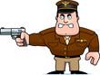 Cartoon Captain Gun