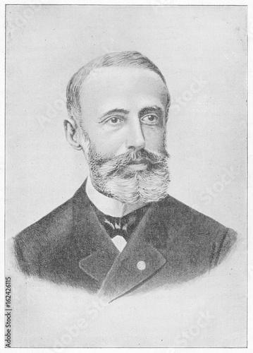 Gaston Plante. Date: 1834 - 1889 Poster Mural XXL