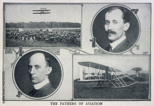 Obraz na plátne Wright Bros - Planes