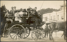Horse Drawn Excursion. Date: 1913
