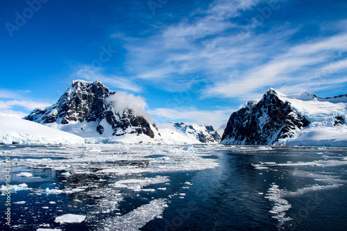 Photo Stands Antarctica Beautiful landscape in Antarctica
